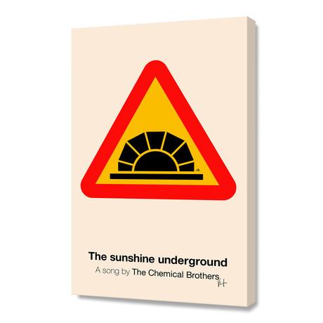 "The Sunshine Underground (Stretched Canvas // 16""W x 24""H x 1.5""D)"