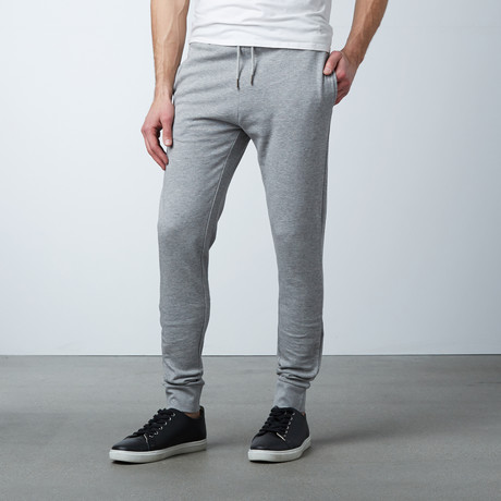 James Cuffed Sweat Pant // Grey (S)