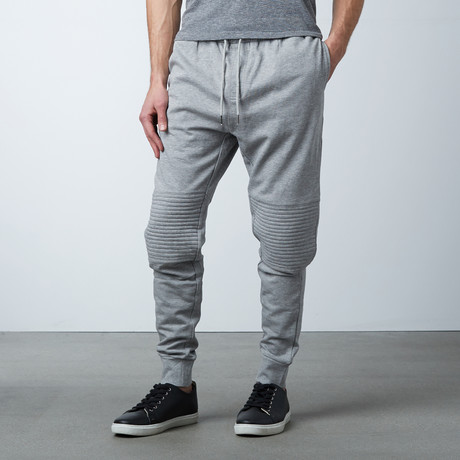 Tristan Cuffed Sweat Pant // Grey (S)