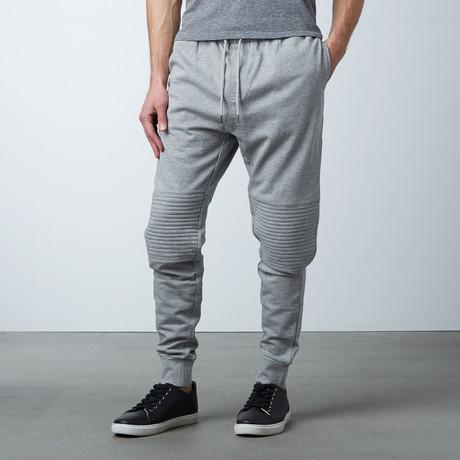 Tristan Cuffed Sweat Pant // Grey (S)
