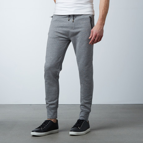Michah Cuffed Sweat Pant // Grey (S)