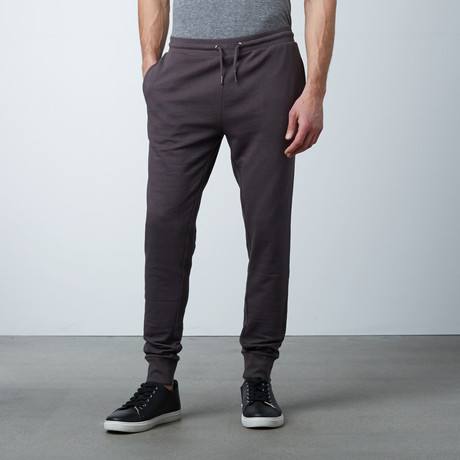 James Cuffed Sweat Pant // Anthracite (S)