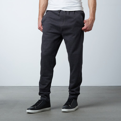 Michah Cuffed Sweat Pant // Anthracite (S)