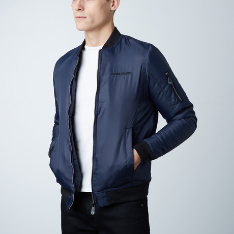 Tyler Lightweight Bomber Jacket // Blue (S)