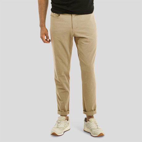 Passage Pant // Tan (36WX34L)