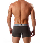 Aeronautica Cotton Trunk // Dark Gray (XL)