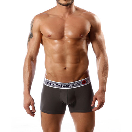Aeronautica Cotton Trunk // Dark Gray (S)
