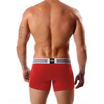 Aeronautica Cotton Trunk // Red (S)