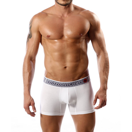 Aeronautica Cotton Trunk // White (S)