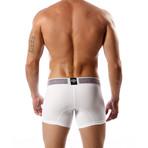 Aeronautica Cotton Trunk // White (L)