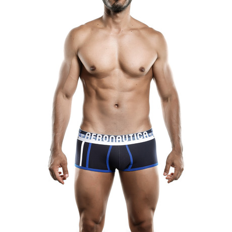 Aeronautica Cotton Brief // Dark Blue (S)