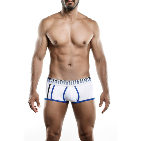 Aeronautica Cotton Brief // White (S)