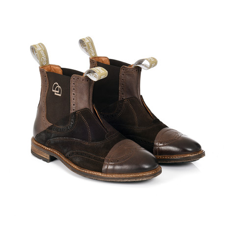 No Lace Boot // Brown (12)
