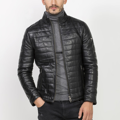 Altma Leather Jacket // Black (S)
