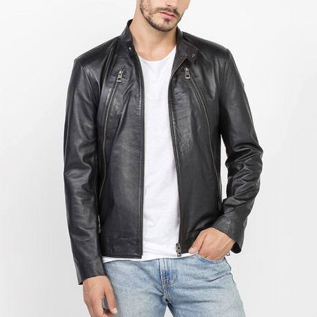 Levine Leather Jacket // Black (S)