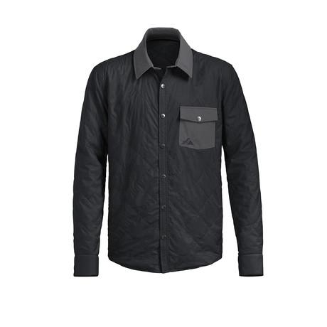 AP Shirt Jacket // Caviar + Smoked Pearl (XS)