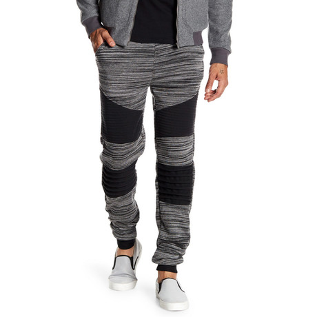 Fleece Heathered Pant // Dark Gray (S)