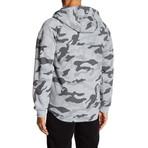 Fleece Camo Jacket // Gray (S)