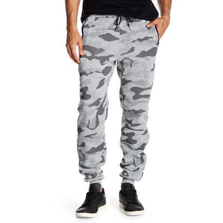 Fleece Camo Pant // Gray (S)