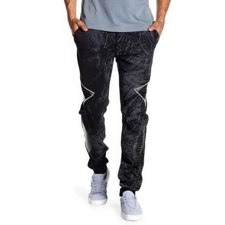 Fleece Protozoa Pant // Black (S)