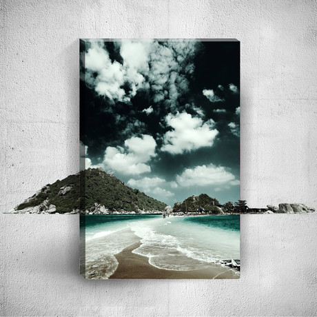 Mostic 3-D Wrapped Canvas // ADC76