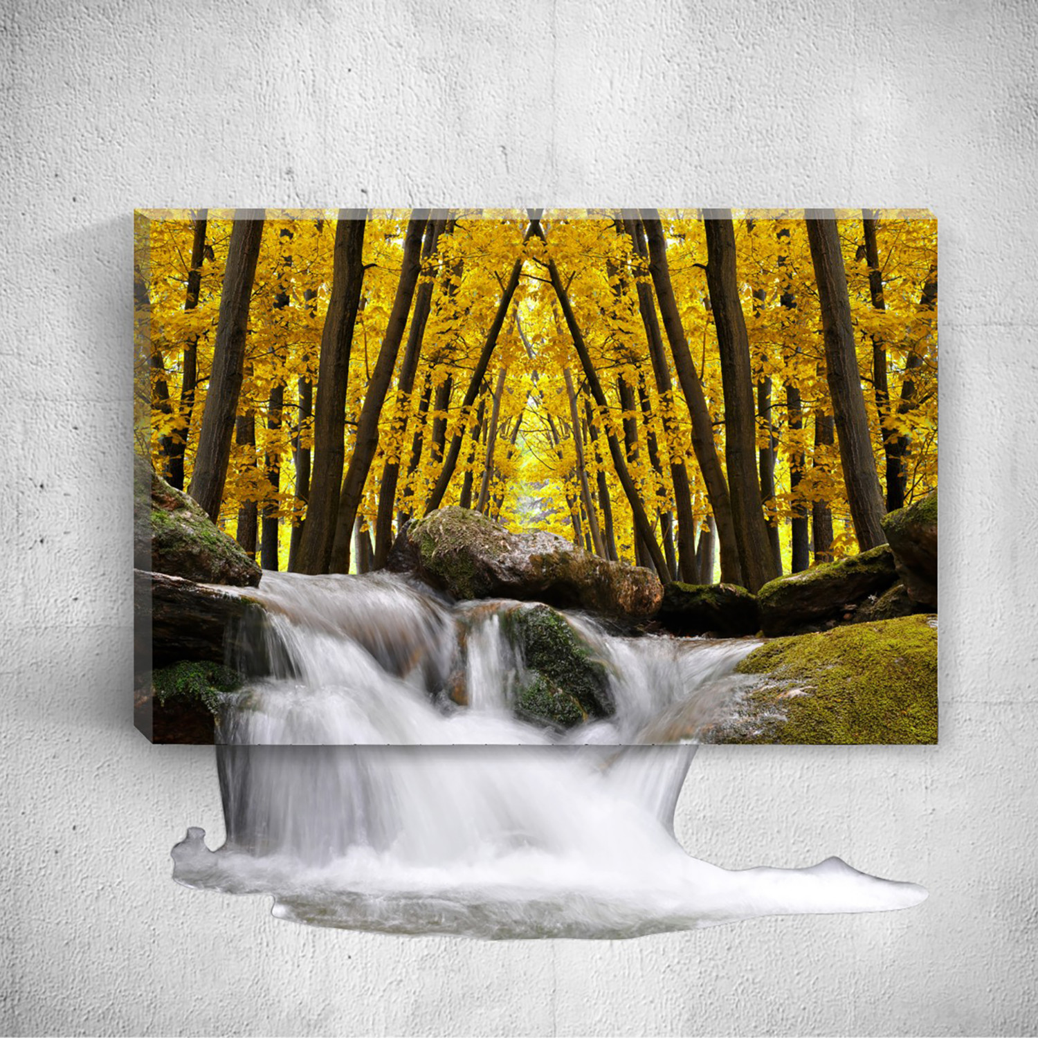 Mostic 3D Canvas + Decal - Optical Illusion Wall Art - Touch of Modern