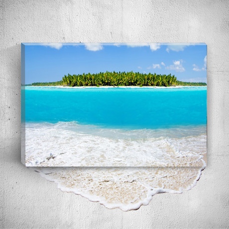Sea // Mostic 3D Wrapped Canvas + Decal