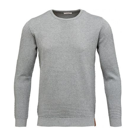 Sallor Pattern Knit // Grey Melange (S)