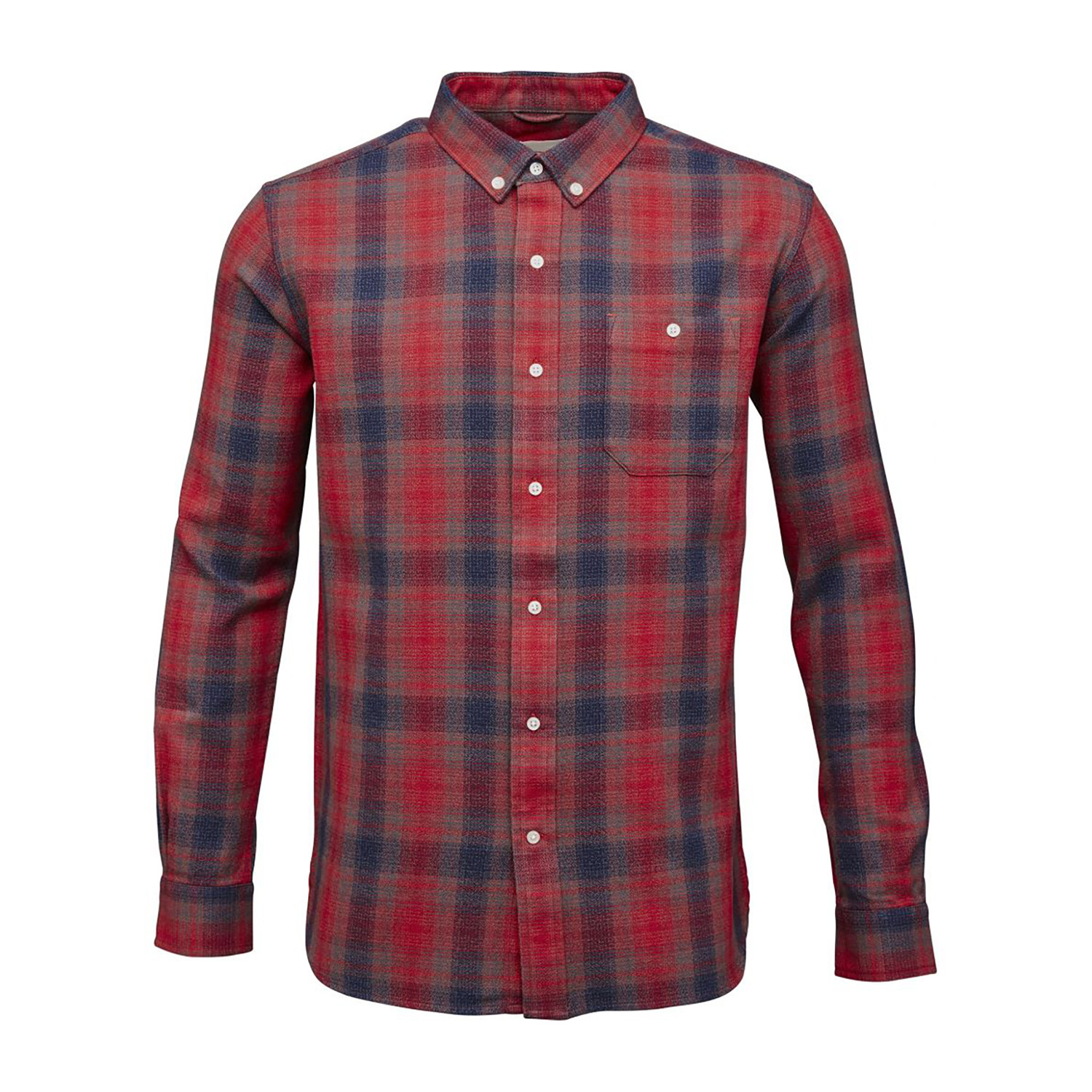 yardyed checked shirt pompeain s knowledge cotton apparel touch of modern. Black Bedroom Furniture Sets. Home Design Ideas