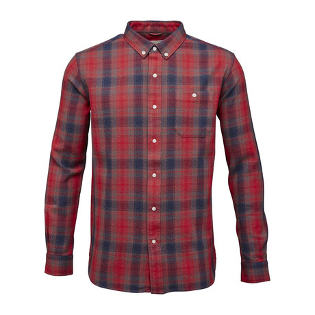 Yardyed Checked Shirt // Pompeain (S)