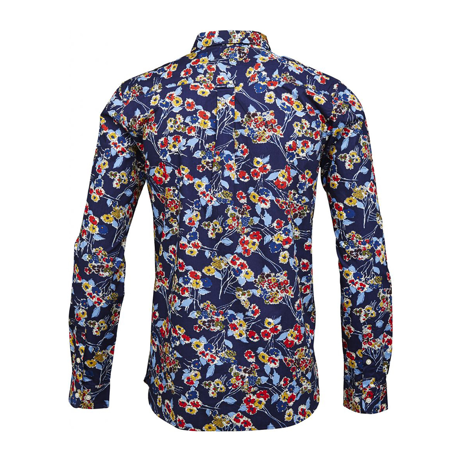 poplin shirt allover flower print peacoat s knowledge cotton apparel touch of modern. Black Bedroom Furniture Sets. Home Design Ideas