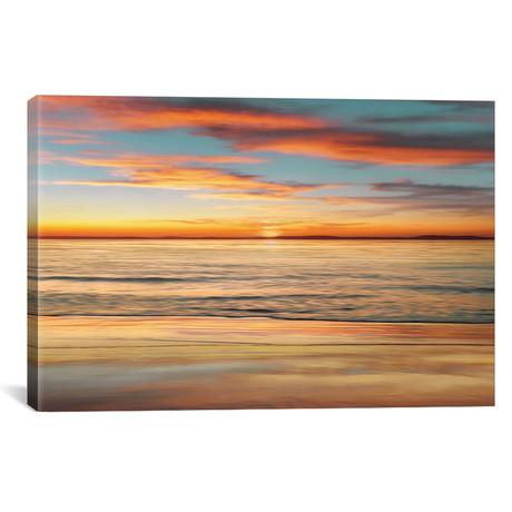 "Surf And Sand // John Seba Canvas Print (26""W x 18""H x 0.75""D)"