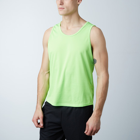 Rapid Dry Performance Tank // Lime (S)