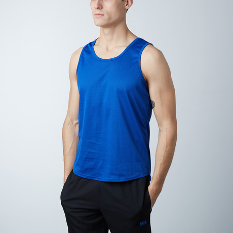 Rapid Dry Performance Tank // Royal Blue (S)