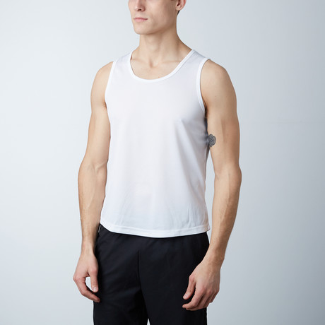 Rapid Dry Performance Tank // White (S)