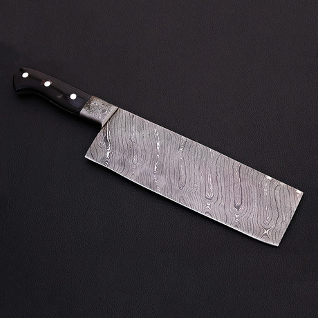 Damascus Cleaver Knife // 9035