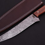 Damascus Fillet Knife // 9036