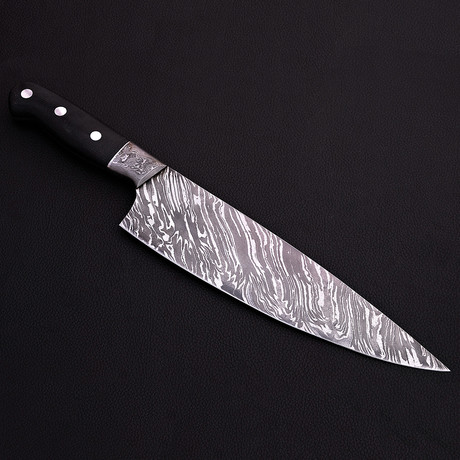 Damascus Chef Knife // 9040