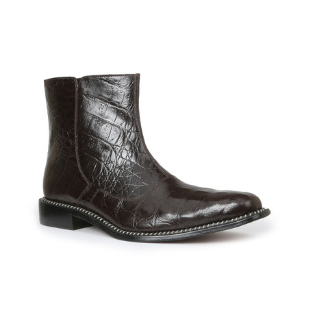 Canto Back Boot // Brown (US: 7)