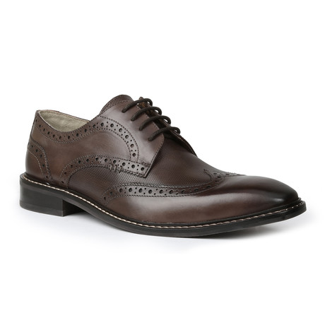 Riven Wing Tip // Brown (US: 7)