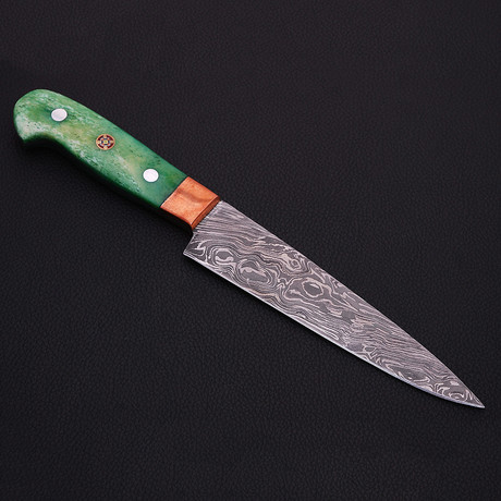 Damascus Kitchen Knife // 9054