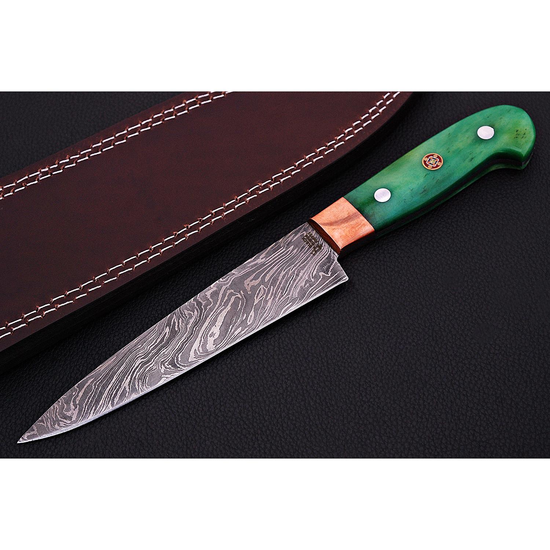 Damascus Kitchen Knife // 9054