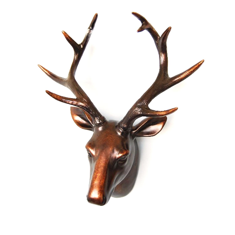 charming Deer Head Wall Art Part - 10: Contemporary Deer Head Wall Art
