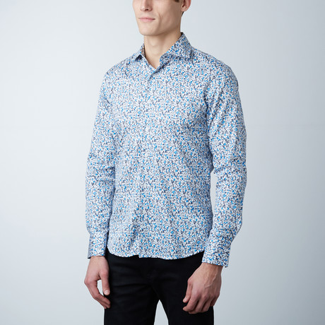 Haskin Black Label Slim Fit Shirt (US: 14.5R)