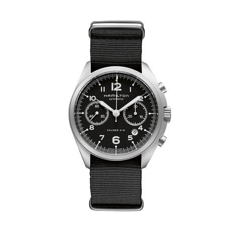 Hamilton Khaki Pilot Pioneer Chronograph Automatic // H76456435