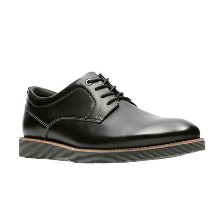 Folcroft Plain Shoe // Black (US: 7)