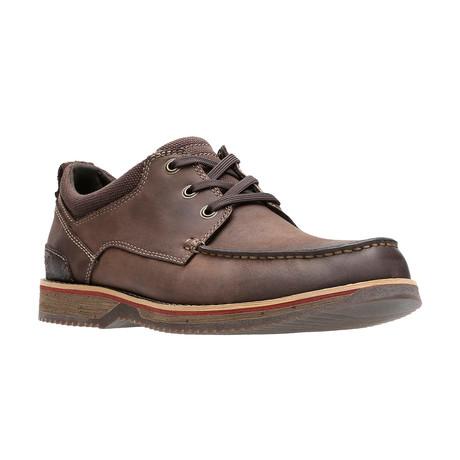 Katchur Edge Boat Shoe // Dark Brown (US: 7)