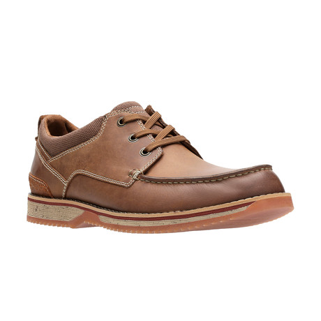 Katchur Edge Boat Shoe // Dark Tan (US: 7)