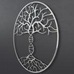 "DNA Tree of Life 3D Metal Wall Art (30""W x 30""H x 0.25""D)"