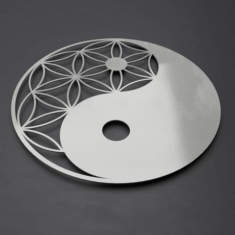 Yin Yang 3D Metal Wall Art